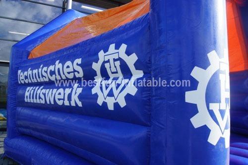 Bouncy castle THW 2 custom