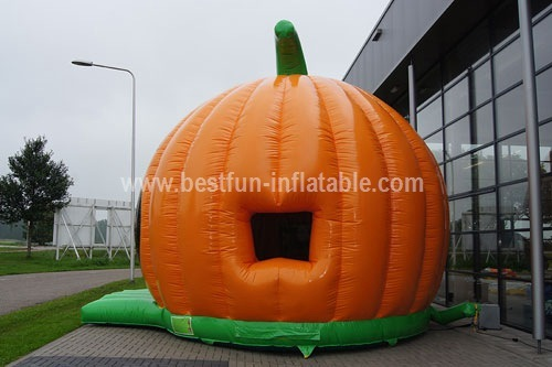 Halloween pumpkin bouncy castle custom
