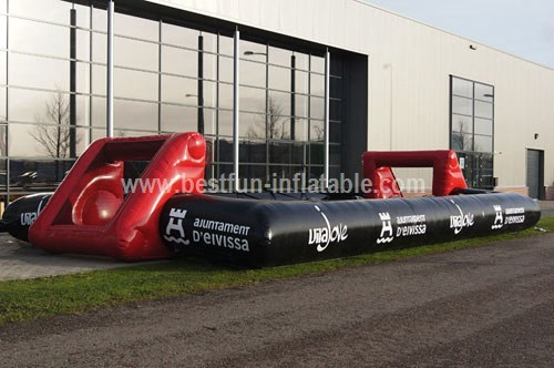 Human Foosball inflatable game
