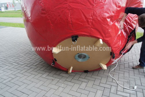 Inflatable Apple custom make