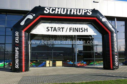Inflatable arch Schutrups measure