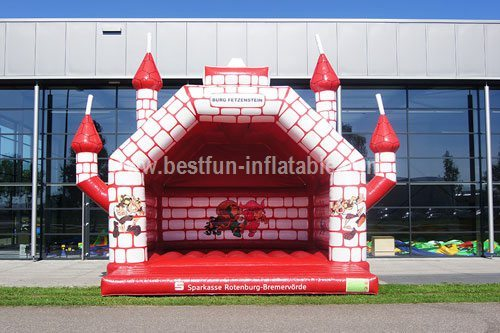 Inflatable Castle Kips measure