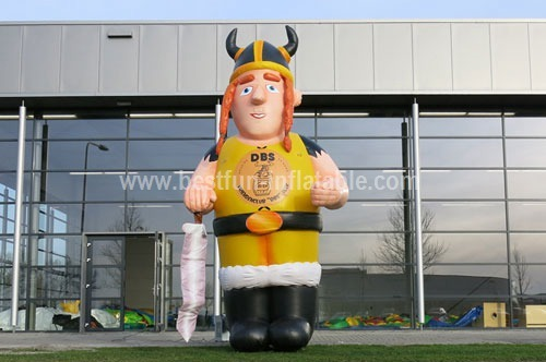 Inflatable DBS measure man