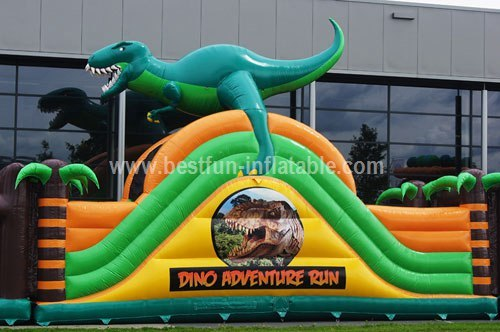 Inflatable Dino Adventure customized course