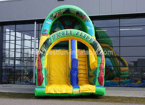 Inflatable Jungle custom slide