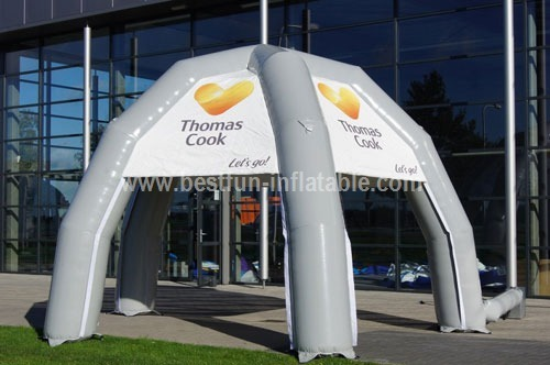 Inflatable tent Thomas cook custom