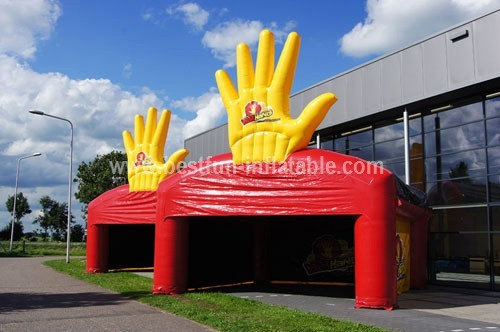 Inflatable tent Waxhands measure