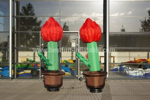 PVC Inflatable tulips measure
