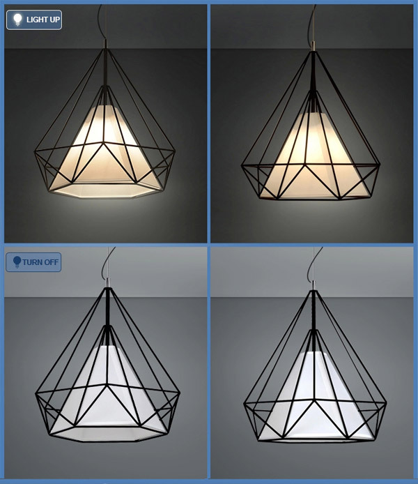 Nordico IKEA tieyi metallo lampadario alluminio creativo ...