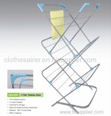 grey coating bedroom clothes rack