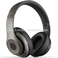 Beats Studio 2.0 High-Definition Noise-Cancelling Over Ear Headphones with In-line Mic in Titanium