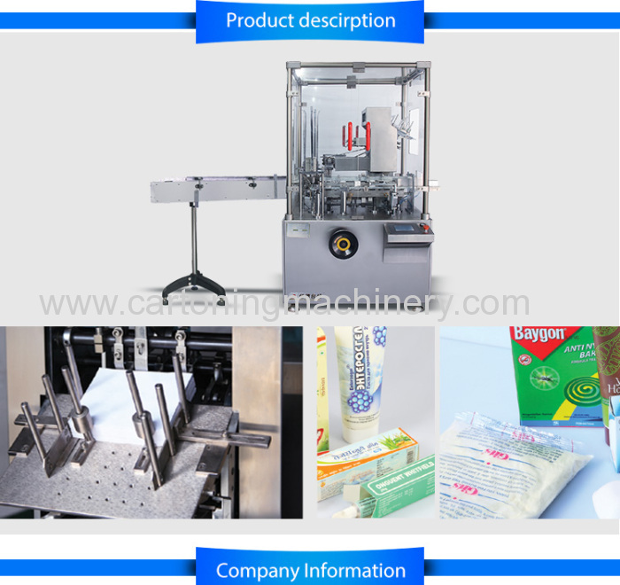 Automatic Ointment/Tube/Toothpaste Cartoning Machine