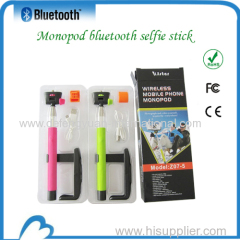 Remote handheld cellphone selfie camera monopod