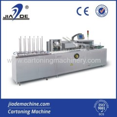 cartoning machine for sachet