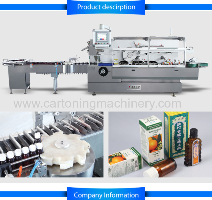 Automatic cartoner for bag