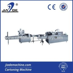 Automatic Pillow Packing And Cartoning Machine Production Line