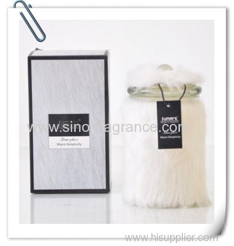 642g Scentedcandle in Glass Bottle