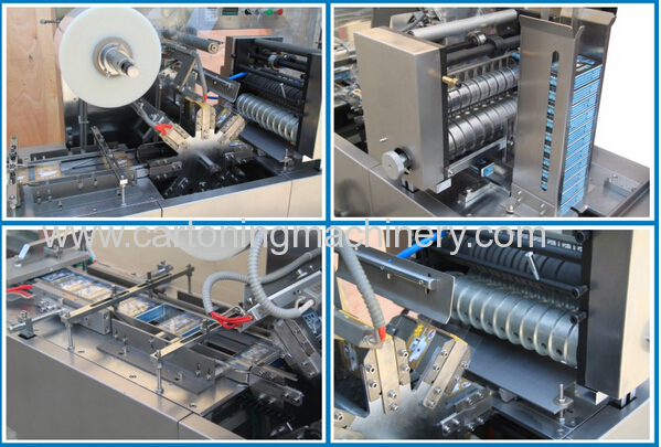 Fully Automatic Cellophane wrapping machine for cosmetic box