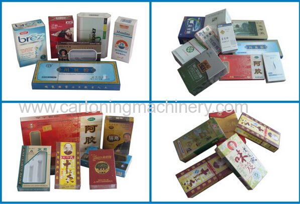 Fully Automatic Cellophane Packaging machine for cigarette box