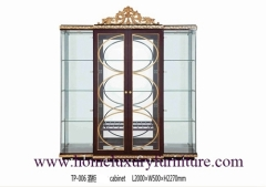 Glass cabinet antique cabinet china cabinet modern cabinet wooden decorate cabinet