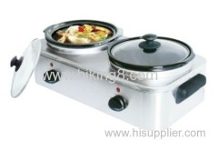 newest home use buffet warmer slow cooker