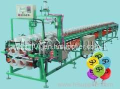 Single balloon printing machine