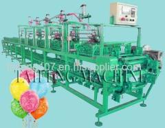 Five balloon printing machine