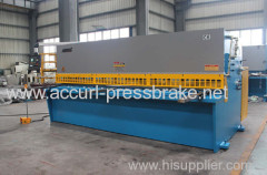 4mm thickness and 2500mm length for Cutting Sheet Metal Hydraulic Swing Beam Cutting Machine