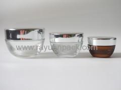 53/400 metal aluminum plastic combined screw on cap lids closures for glass jar