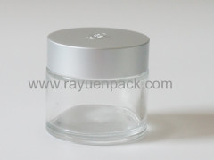 55/400 metal aluminum plastic combined screw on cap lids closures for glass jar