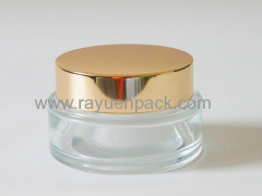 68/400 metal aluminum plastic combined flat top screw cap lids closures for jar