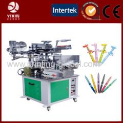 carton pattern on pen through heat transfer pen machine