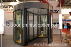 two-wing automatic revolving doors