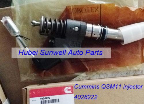 Cummins QSM11 engine injector 4026222 M11 fuel injector