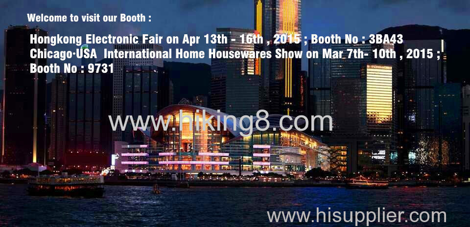 HK Electronic Fair & Chicago International home housewares show