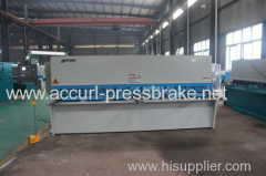 6mm Thickness 6000mm NC Hydaulic Cutting Machine