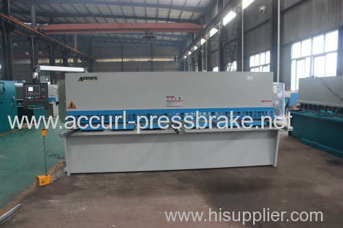 Hydraulic CNC plate guillotine cutting machine