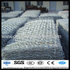 1x1x1m hot dipped galvanized anping hexagonal mesh gabion box