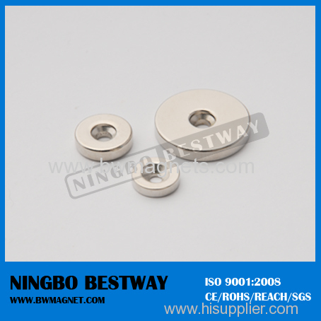 NdFeB Magnet with Countersunk for Screw