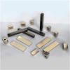Sintered arc neodymium motor magnet block