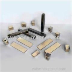 Sintered arc neodymium motor magnet
