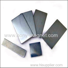Sintered arc zinc coating neodymium magnets