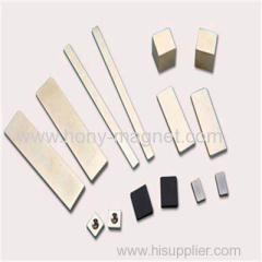 Sintered powerful neodymium magnet