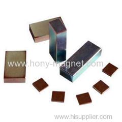 Permanent sintered neodymium tile magnet