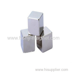 Permanent sintered hot sale neodymium magnet