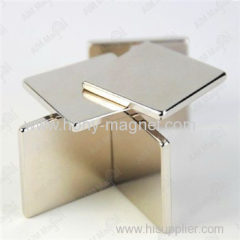Custom made neodymium permanent magnet