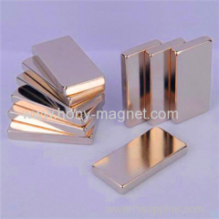 Permanent sintered super magnetic neodymium