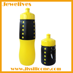Flexible new design silicone water bottle