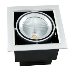 40W Recessed led downlights