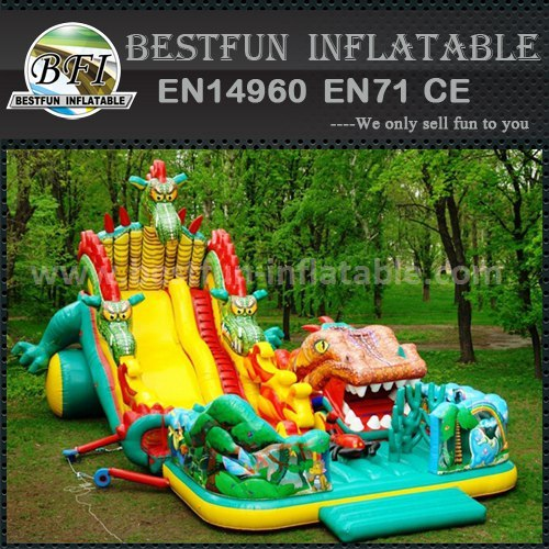 Cheap inflatable animal slide